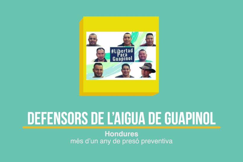 Defensors de l'Aigua del Guapinol (Hondures)